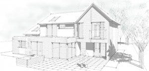 Contemporary House Remodelling in Woking, London