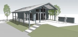 New tennis club pavilion for town…