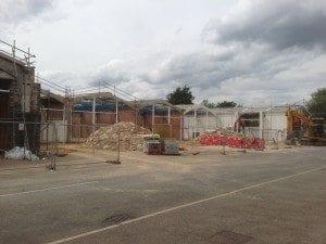 Industrial refurbishment of 7 units progressing…