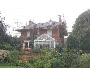 Attic conversion & roof refurbishment nears completion…