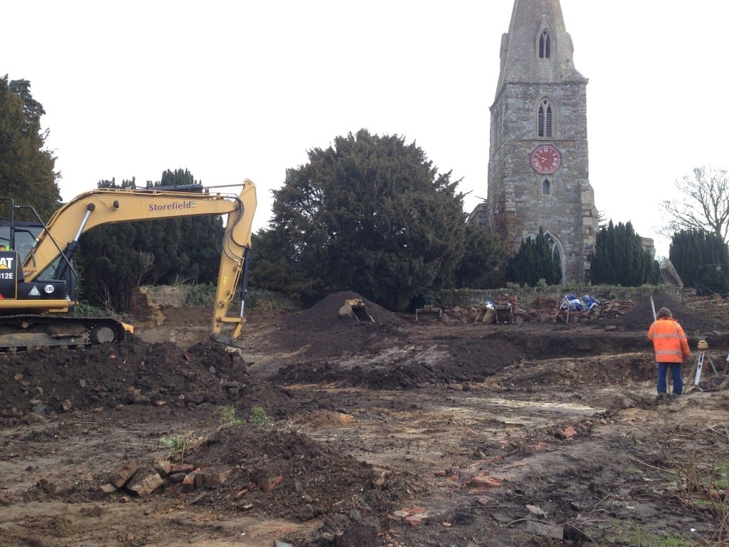 Work starts on site for contemporary new dwelling….