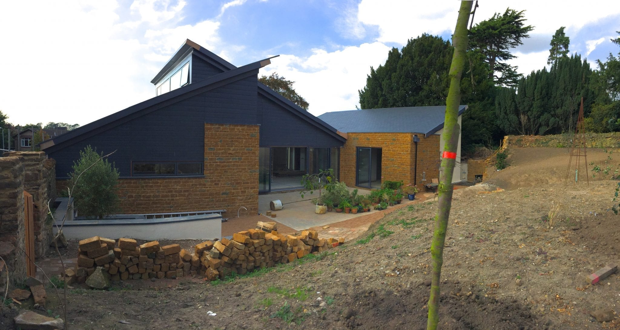 Broughton contemporary house nears completion…