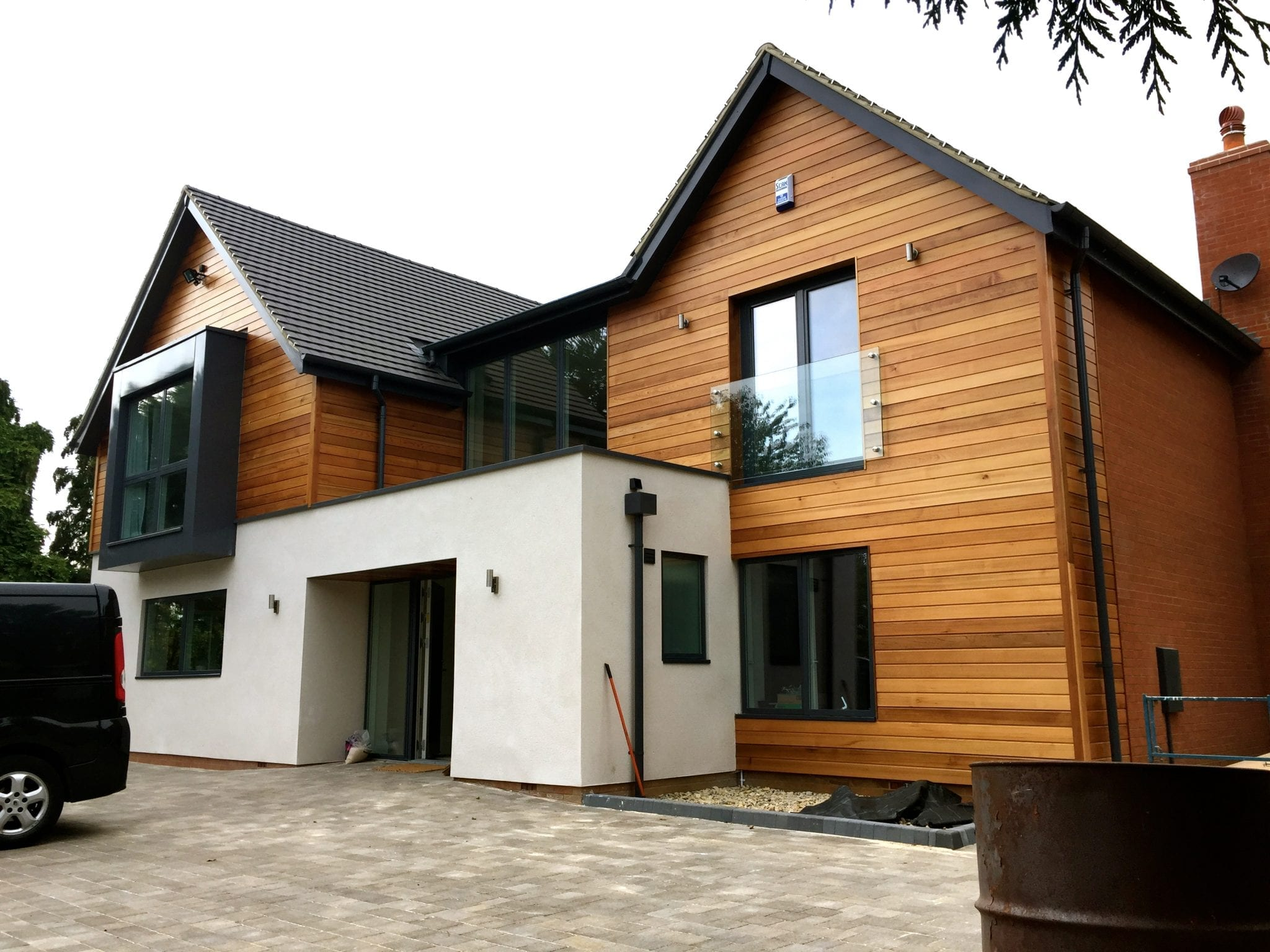 Loddington house nears completion…