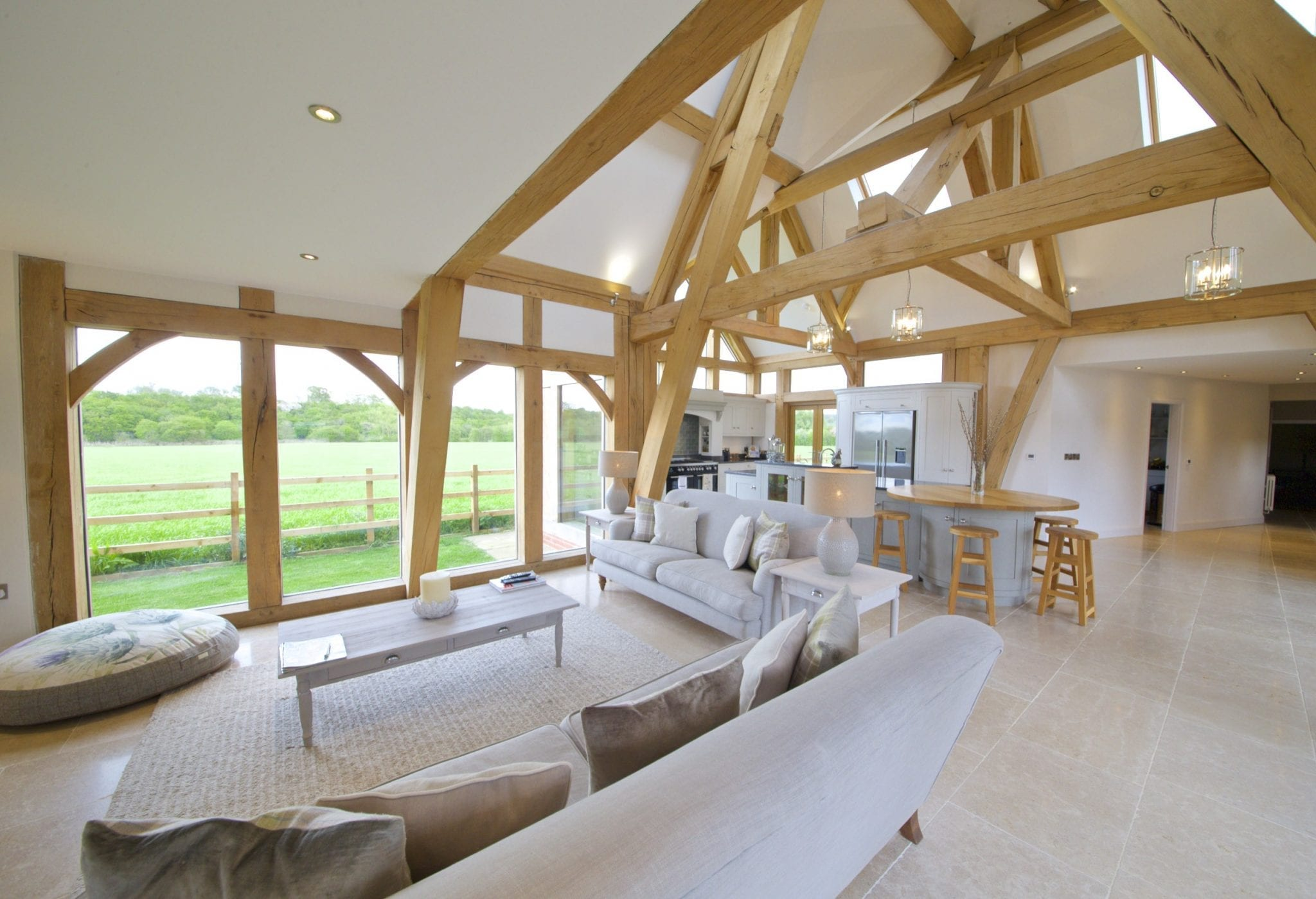 Beautiful oak framed kitchen, dining and garden room ...