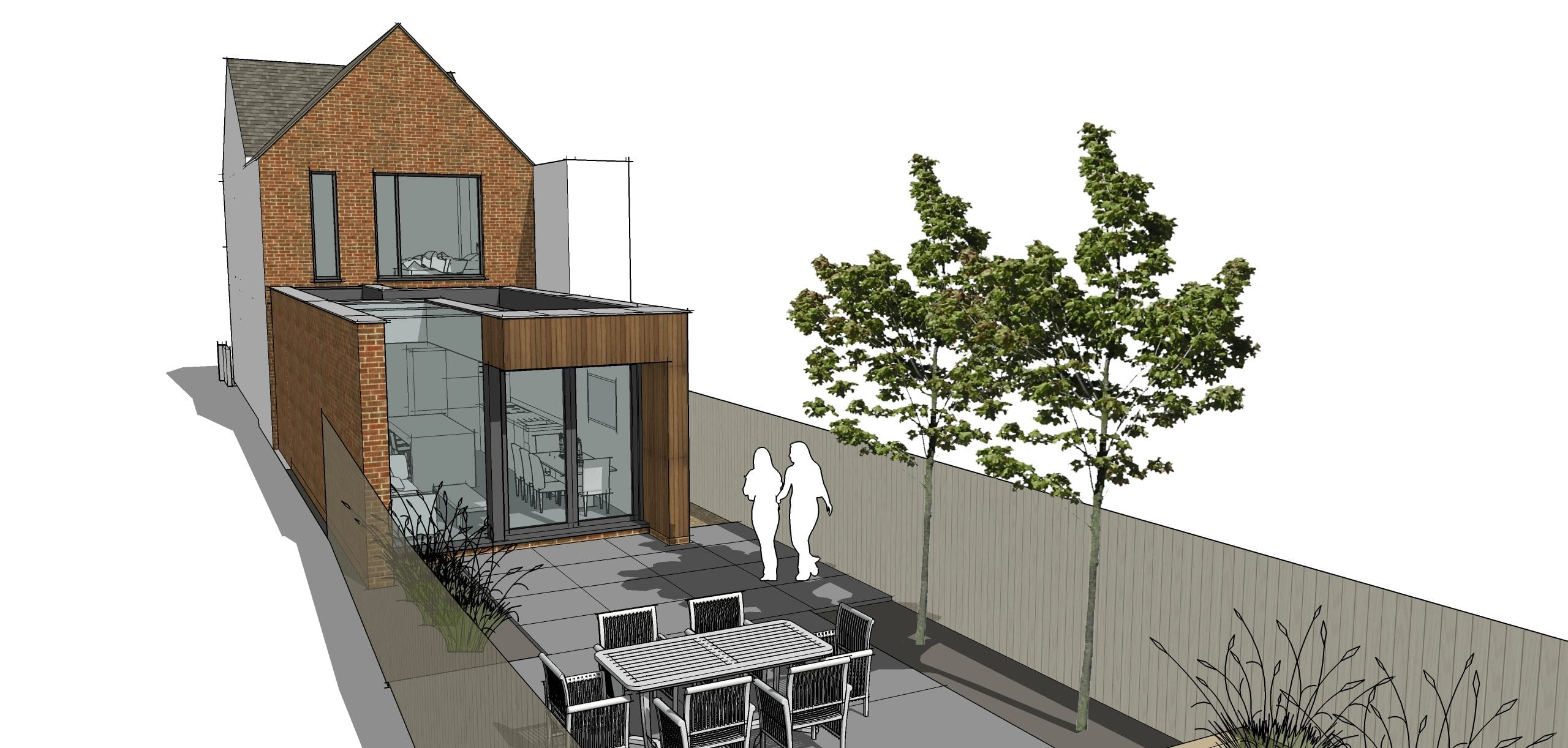 Modernised and extended Victorian Terrace shortly to be submitted for planning…