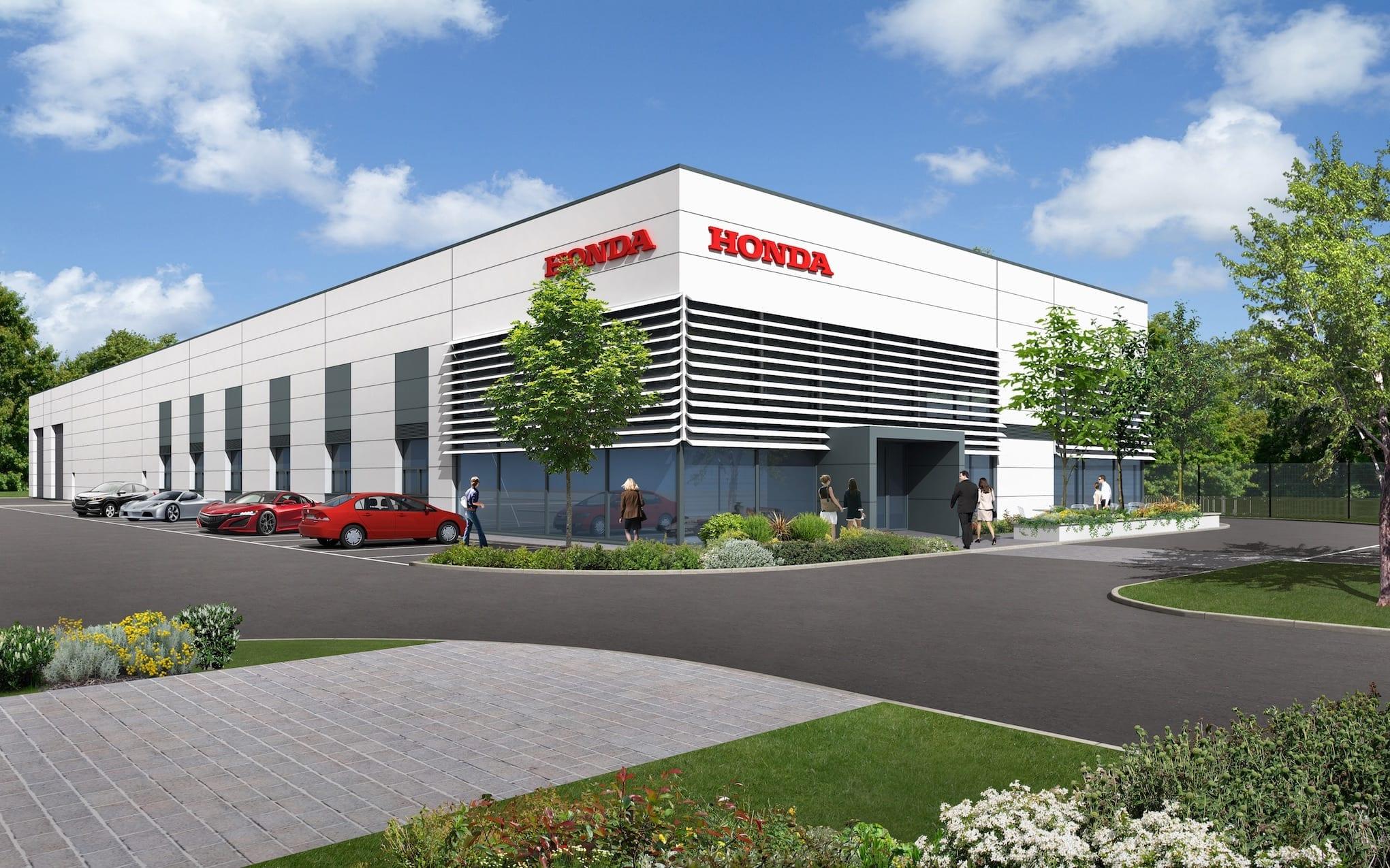 Honda Formula One R&D facility in Milton Keynes…