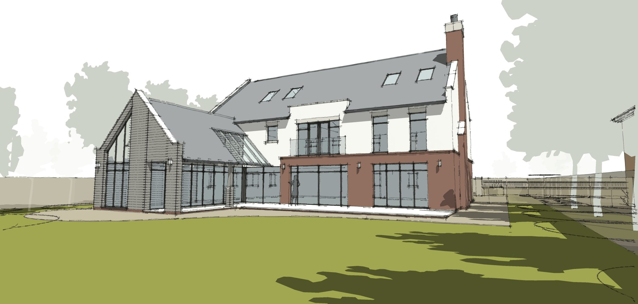 New Bespoke Family House in Northamptonshire…