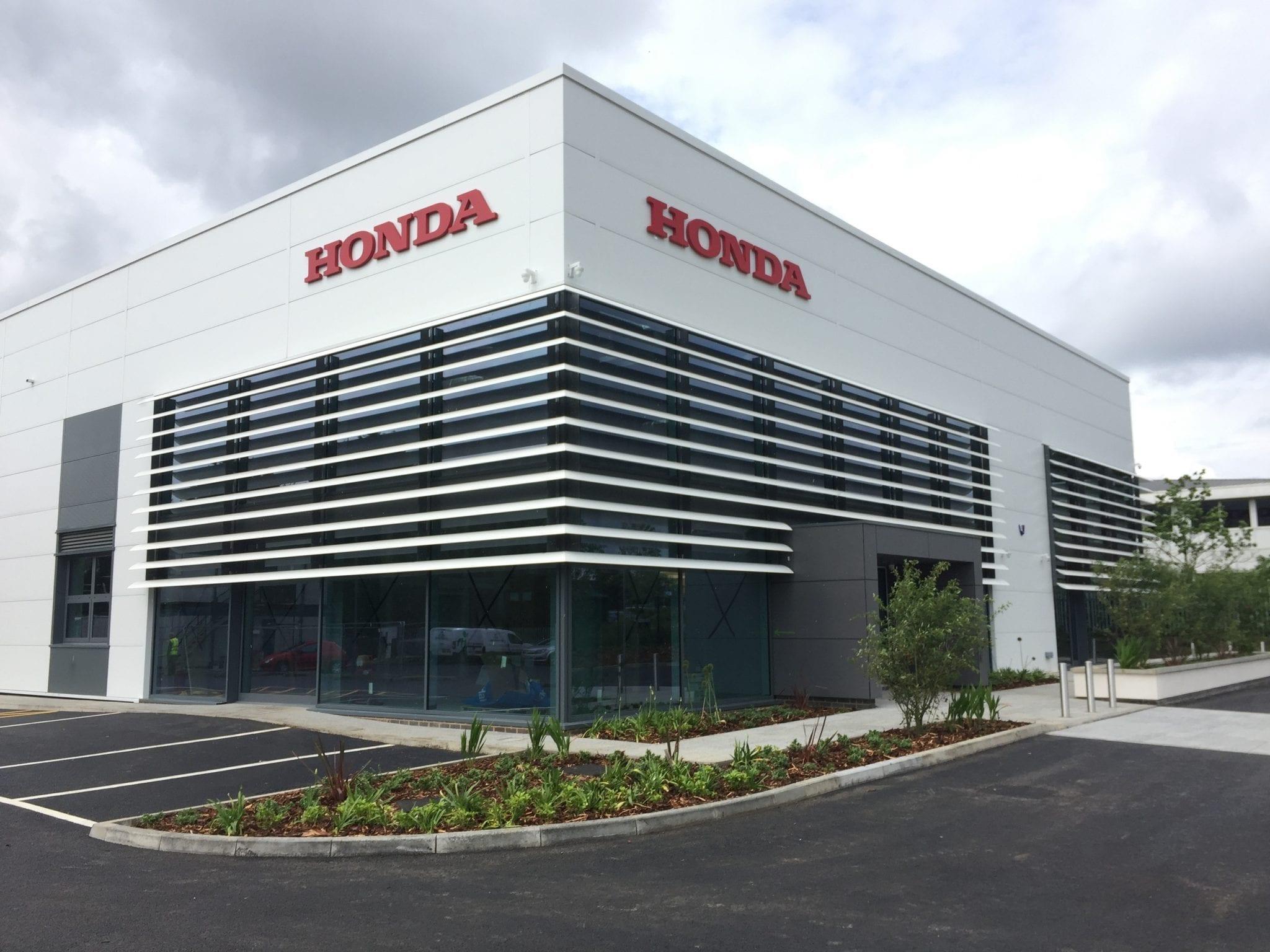 Honda RD Milton Keynes nears completion…
