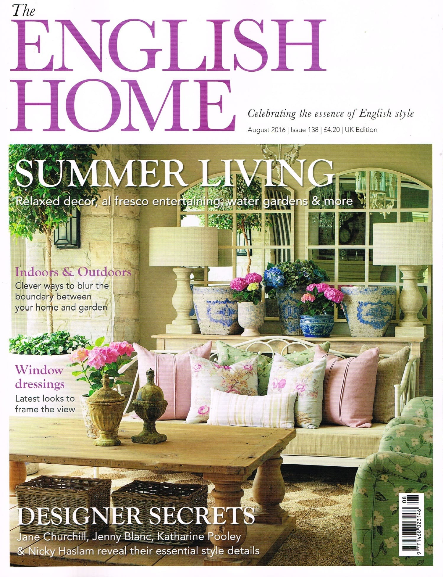 The english homes magazine leaf architecture for Homes magazines