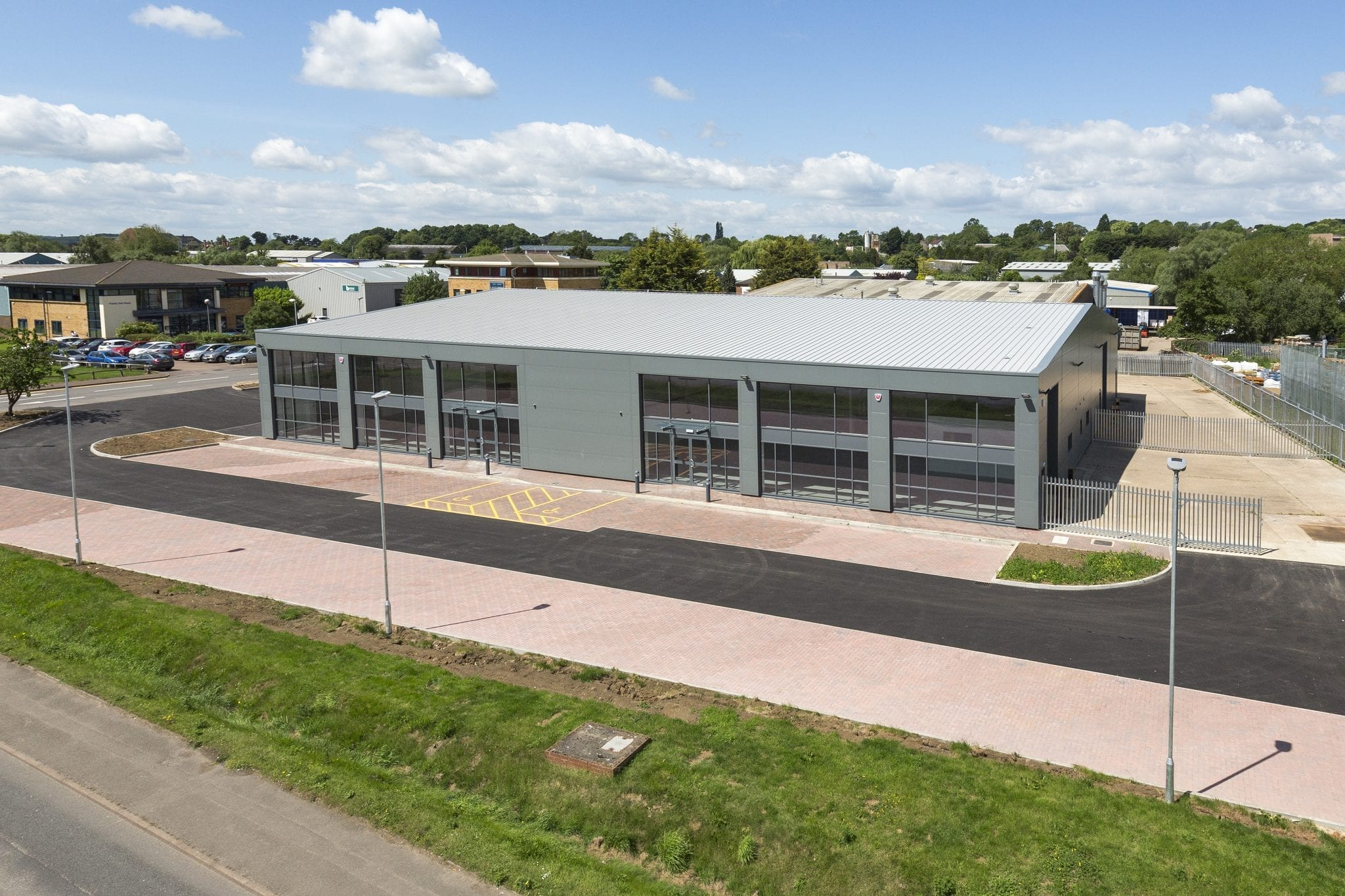 20,000 sq ft refurbishment of industrial building nears completion…