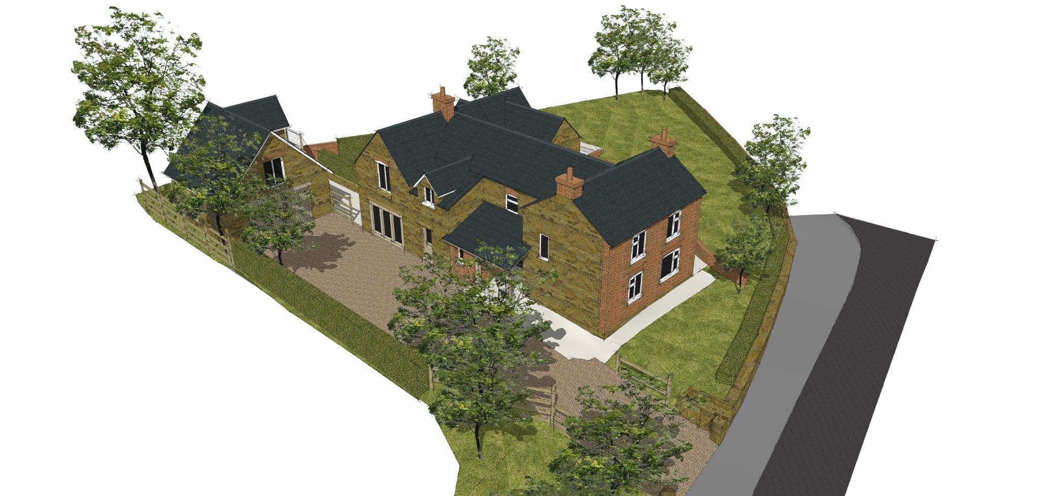Cottage Extended for Modern Family Living…