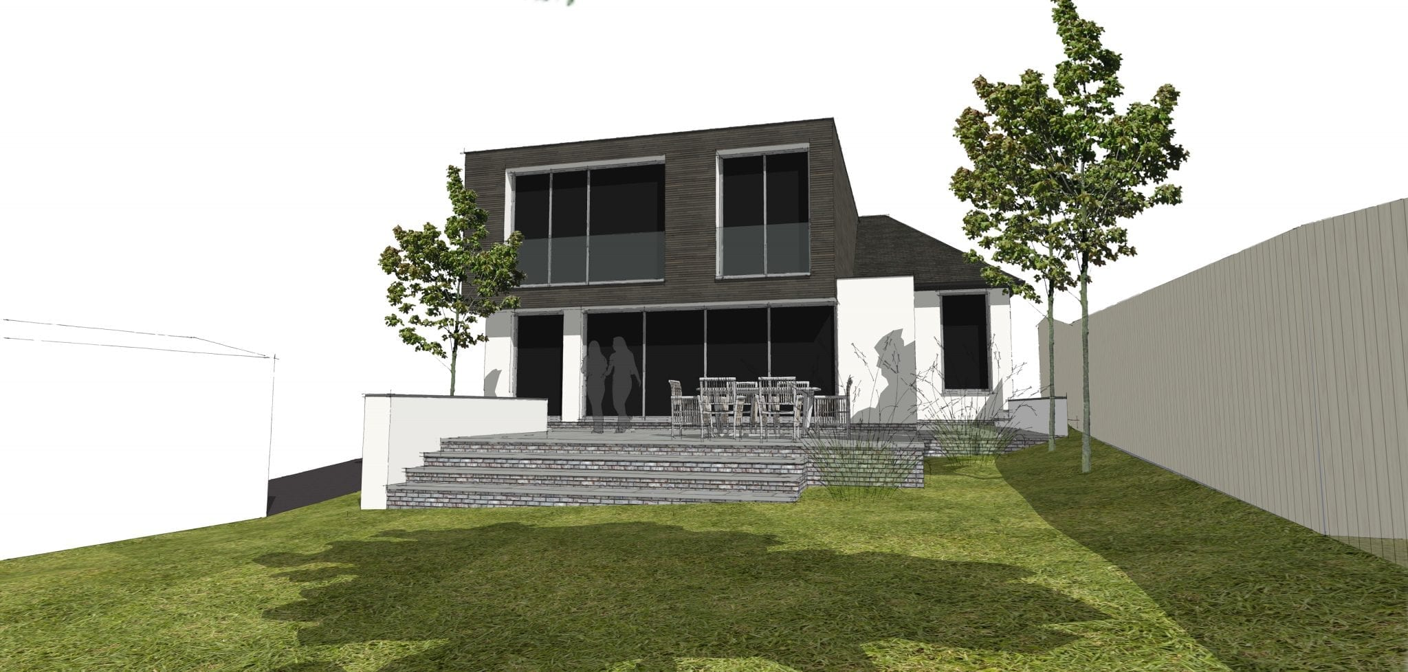 Contemporary extension to bungalow gains Approval…