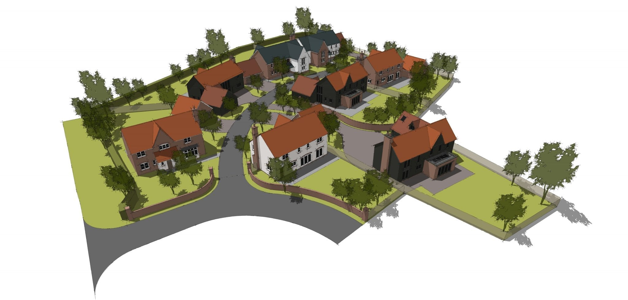 Small rural residential development moves towards planning submission…