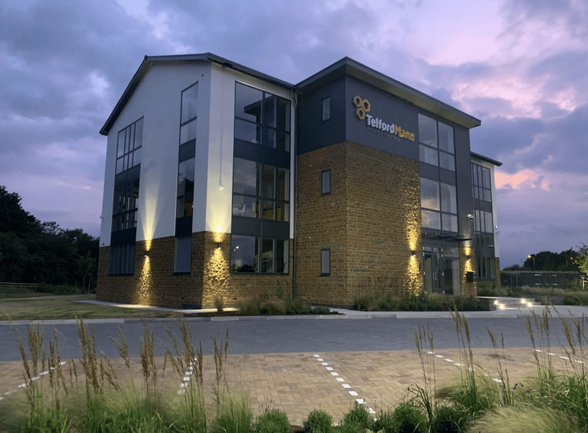 Head quarter office and well-being centre completed in Kettering…