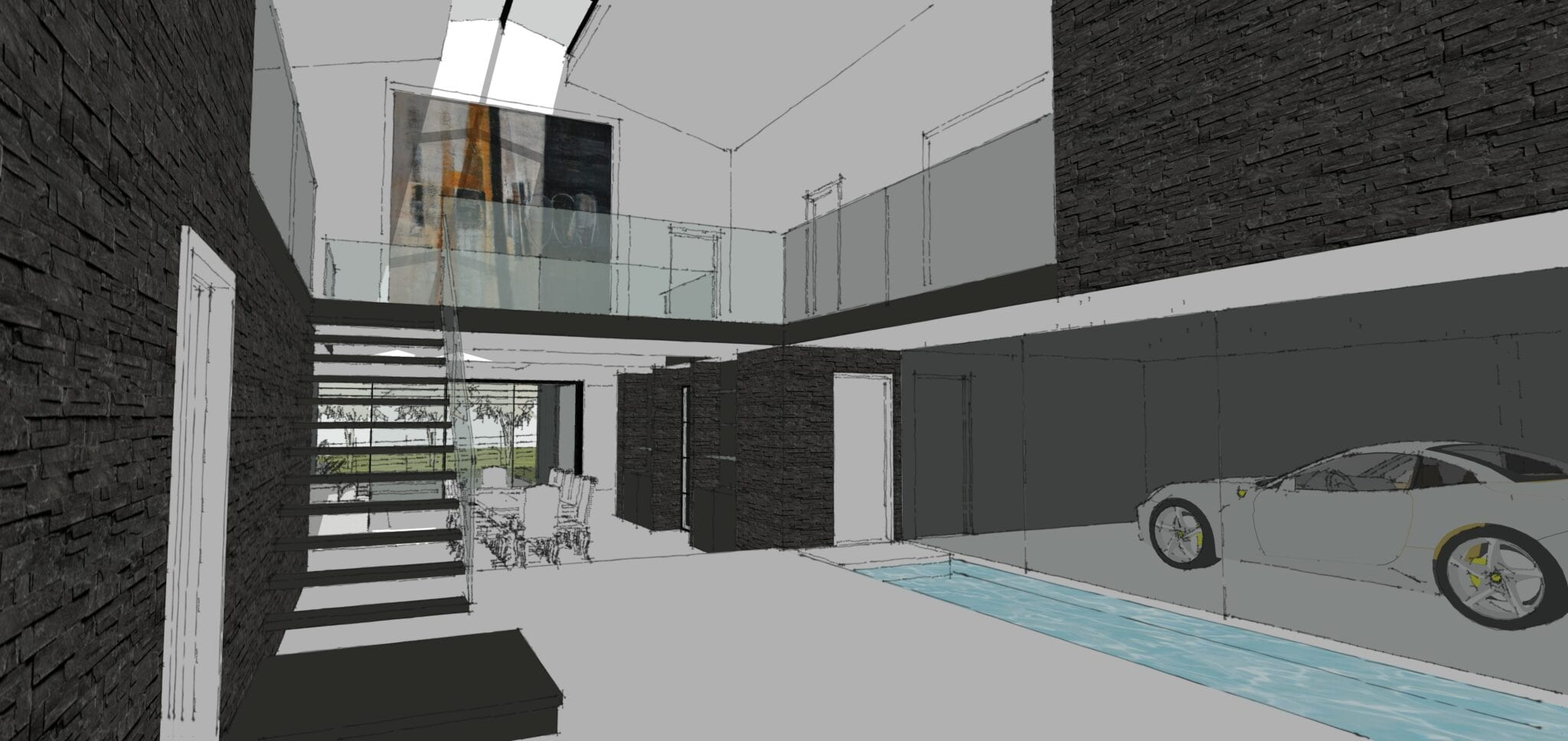 Planning Permission Granted for Industrial Inspired Barn Conversion…
