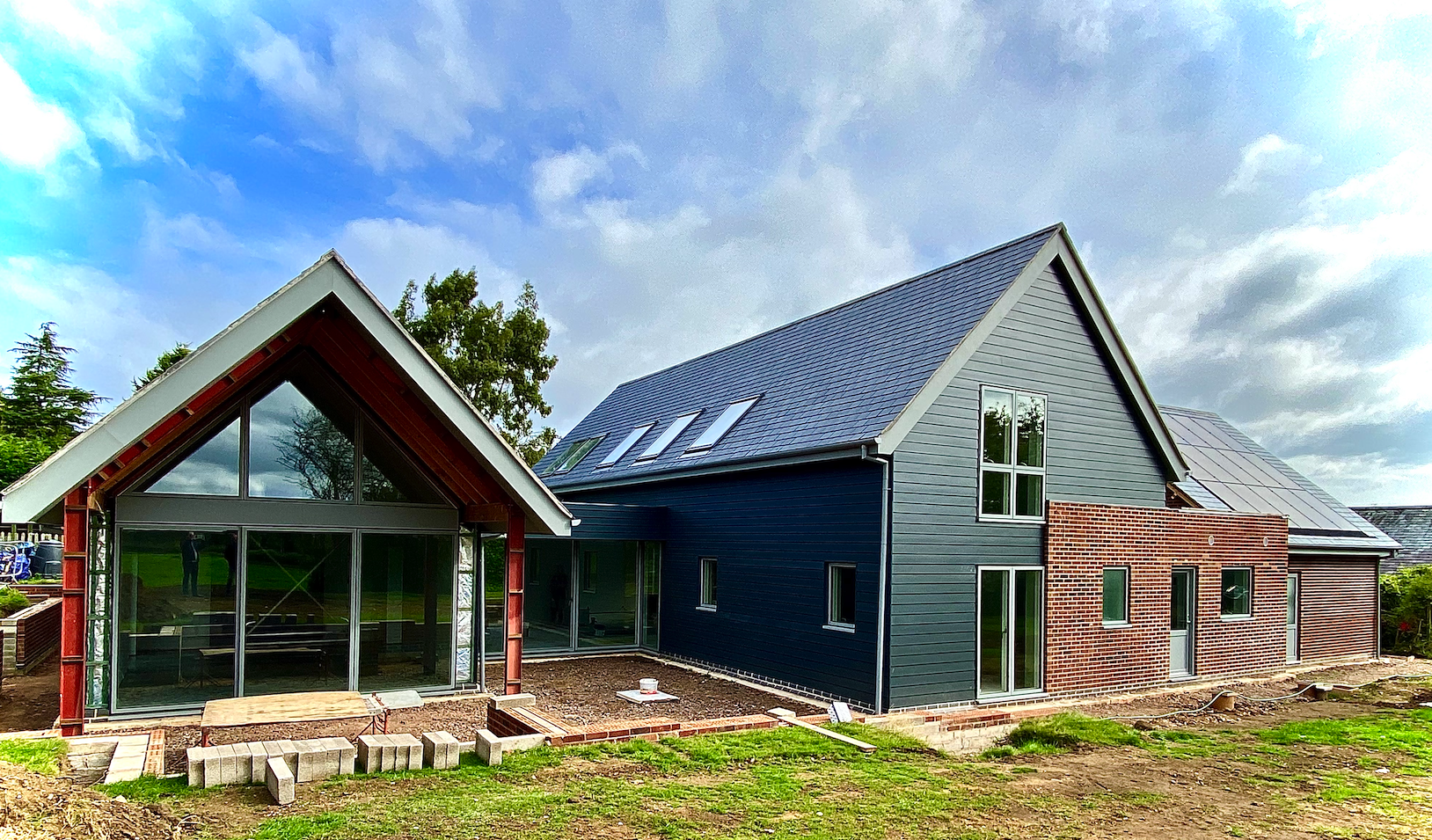New eco-build nears completion…