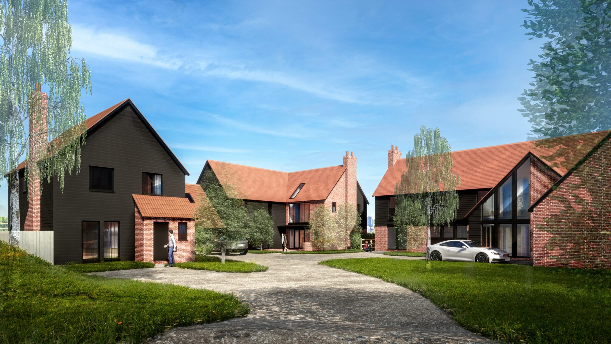 Planning Submitted for 3 New Village Houses…