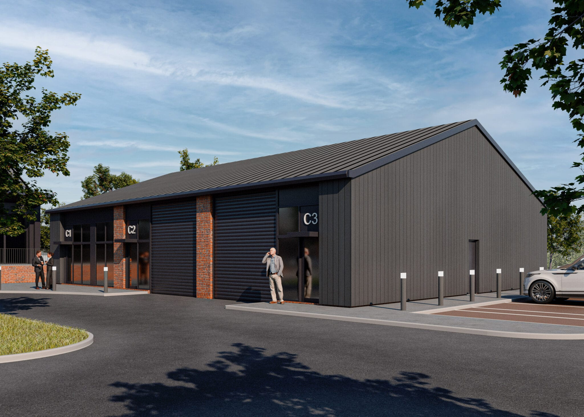 Planning Secured for 6,000 sq ft Phase 1 of Mixed Use Development…
