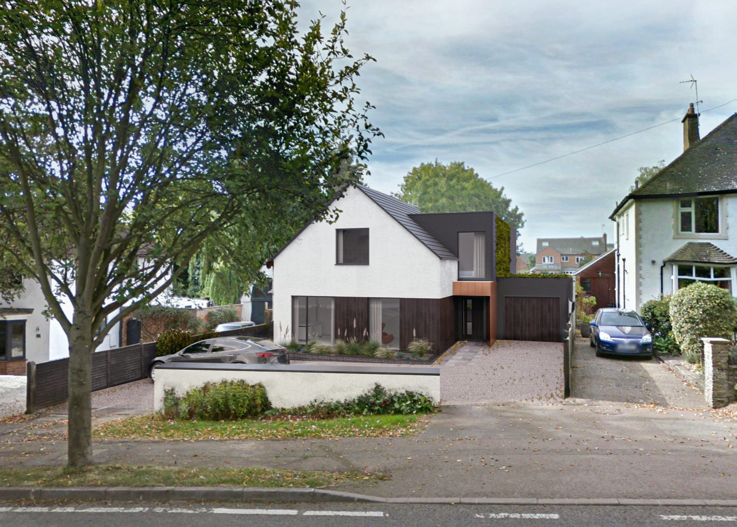 CGI Visual of Approved Scheme – Before & After…