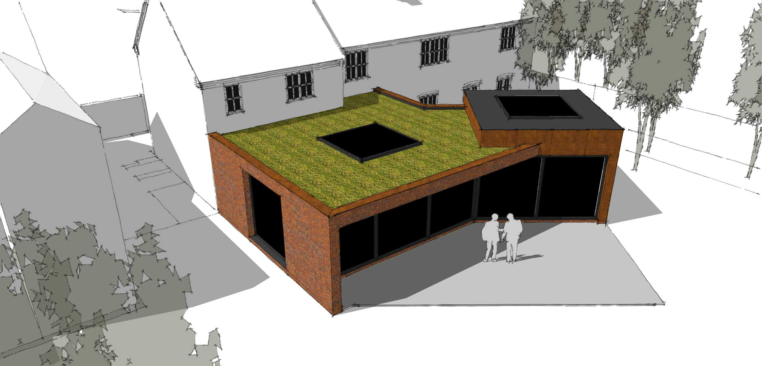 Planning Approval for Interlocking Cube Extension…