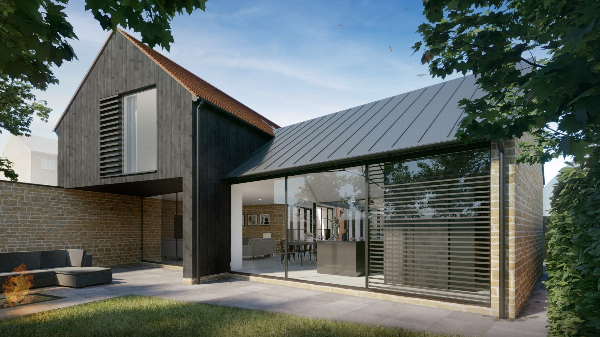 Planning Submitted for Stunning Contemporary House in Traditional Urban Setting…