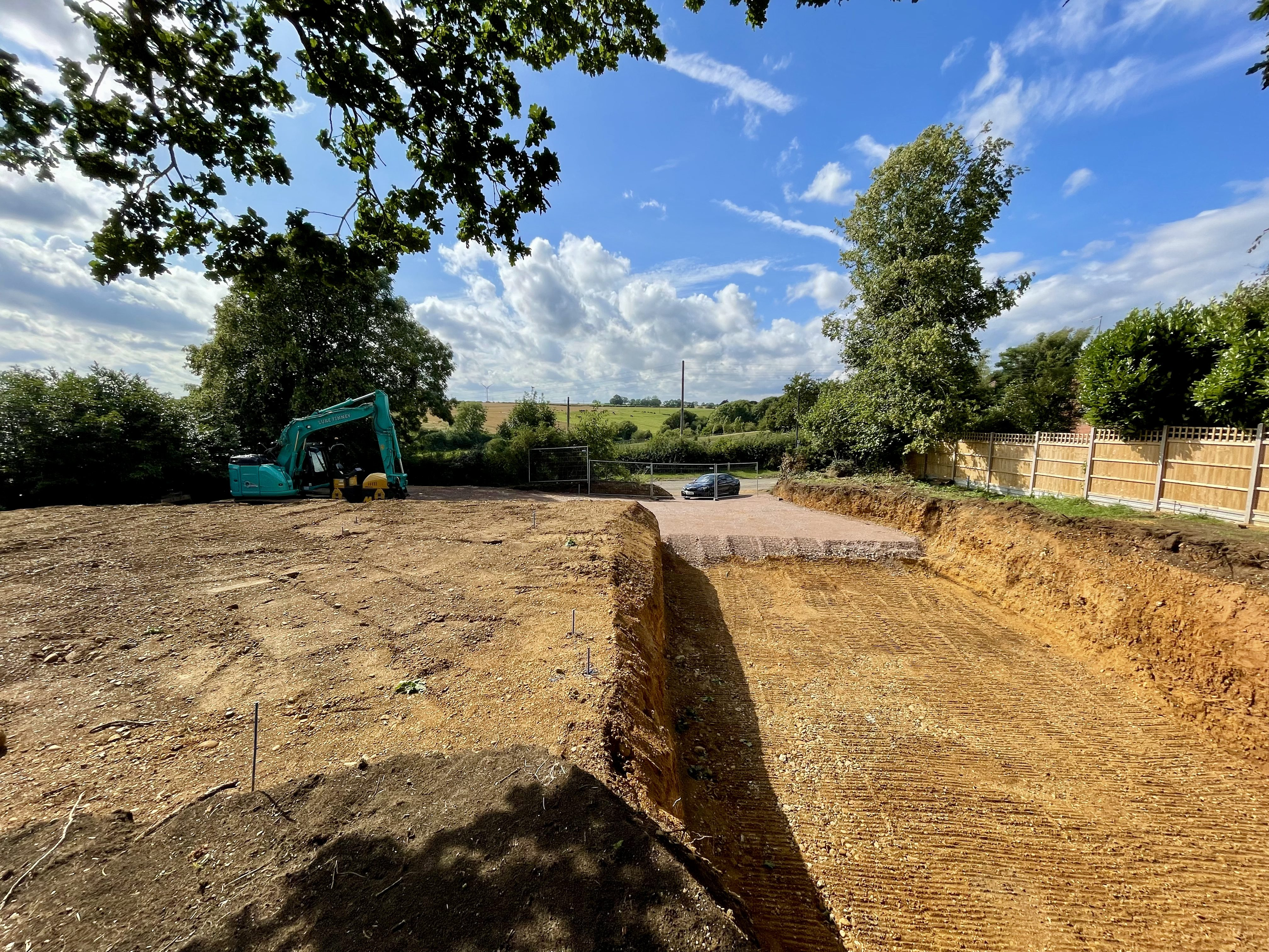 Contemporary House Breaks Ground…